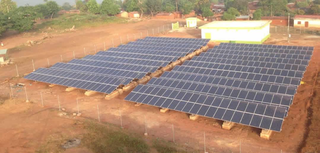 Construction de centrales solaires PV en Guinée-Bissau